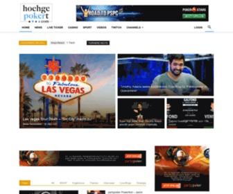 Hochgepokert.com - Hochgepokert - die deutsche Gambling News Seite