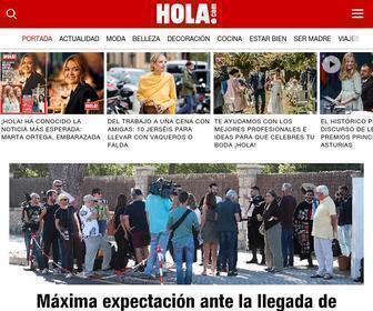 Hola.com - HOLA.com, diario de actualidad, moda y belleza