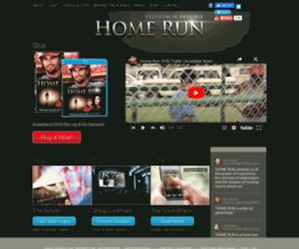 Homerunthemovie.com - Home Run - Available Now on DVD & Blu-ray!