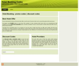 Hotelbookingcodes.com - promo Hotel Booking Codes