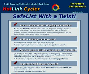Hotlinkcycler.com - Hot Link Cycler - SafeList with a Twist!