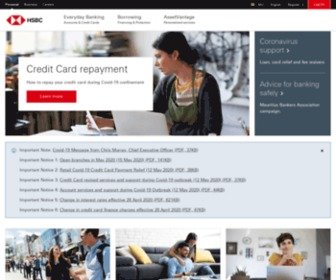 Hsbc.co.mu - HSBC Bank - Credit Cards, Home Loans, and more | HSBC Mauritius