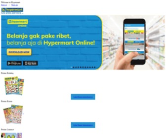 Hypermart.co.id - Home Page - Hypermart