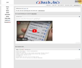 Ibash.de - ibash.de - Witzige Chat-Zitate aus IRC und IM