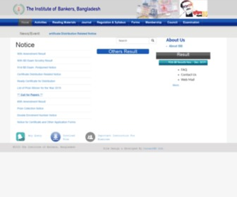 Ibb.org.bd - The Institute of Bankers, Bangladesh