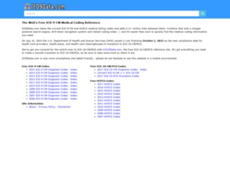 Icd9data.com - The Web's Free ICD-9-CM & ICD-10-CM Medical Coding Reference