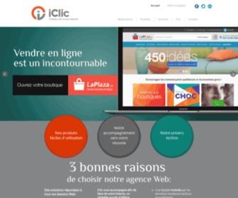 Iclic.com - Agence web, création site web, boutique en ligne, application mobile | iClic