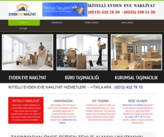 Ikitellinakliyat.net - İkitelli Evden Eve Nakliyat (0212) 432 76 10 %100 Güven,Kalite