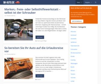 Im-auto.de - Auto News Automarkt Autokauf - im-auto.de