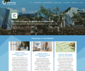 Improxy.pt - Software mediação imobiliária, condomínios, arrendamento e faturação