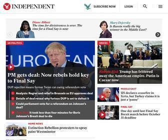 Independent.co.uk - The Independent | News | UK and Worldwide News | Newspaper