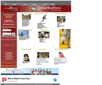 Indiaheadlines.com - World Headlines