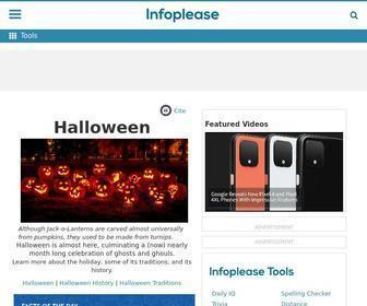 Infoplease.com - Infoplease: An Online Encyclopedia, Almanac, Atlas, Biographies, Dictionary, and Thesaurus