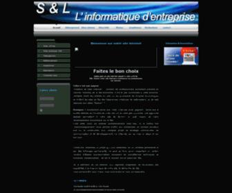 Informatique-sl.com - S & L L'informatique d'entreprise creation de site internet 77 marne la vallee