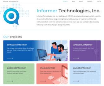 Informer.com - Informer Technologies, Inc.