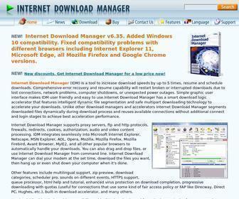 Internetdownloadmanager.com - Internet Download Manager: the fastest download accelerator