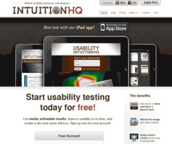 Intuitionhq.com - IntuitionHQ - Website Usability Testing | Overview