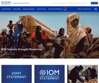 Iom.int - International Organization for Migration