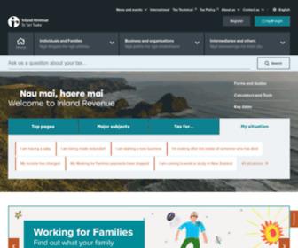 Ird.govt.nz - Inland Revenue - Te Tari Taake