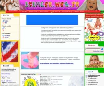 Isimler.web.tr - İSİMLER - Türkiye'nin en kapsamlı isim sitesi