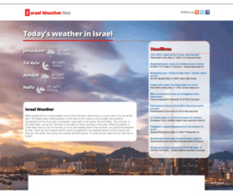 Israelweather.net - Israel Weather.Net | Nation and City Forecasts | Israel Weather