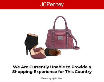 Jcpenney.com - We Are Currently Unable to Provide a Shopping Experience for this Country