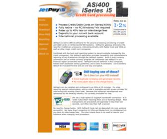 Jetpayi5.com - JetPayi5 - Free AS400 & iSeries Credit Card Processing