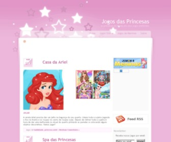 Jogosdasprincesas.com.br - Jogos das Princesas