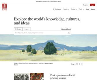 Jstor.org - JSTOR