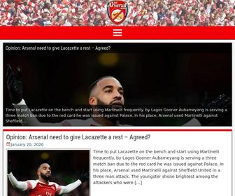 Justarsenal.com - Just Arsenal News | Arsenal Transfer News & Rumours | Arsenal FC Team news