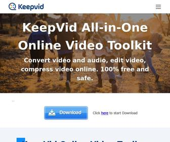 Keepvid.com - [OFFICIAL] KeepVid: Download YouTube Videos, Facebook, Vimeo, Twitch.Tv, Dailymotion, Youku, Tudou, Metacafe and more!