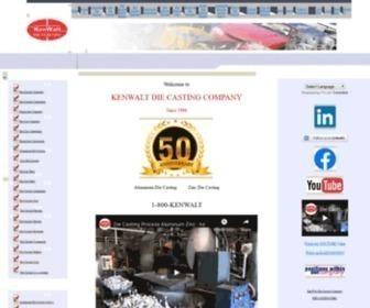 Kenwalt.com - Aluminum Zinc Die Cast Casting Foundry | KenWalt Die Casting Company