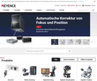 Keyence.de - Das komplette Spektrum der Automatisierungstechnik - Sensorik, Messtechnik, Mikroskopie und mehr. | KEYENCE Deutschland