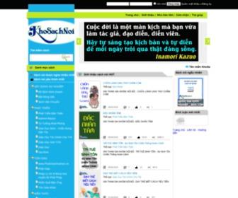 Khosachnoi.com.vn - KHO SÁCH NÓI - AUDIO BOOK - sách hay, phong phú, đa dạng, phục vụ cho dân tộc Việt