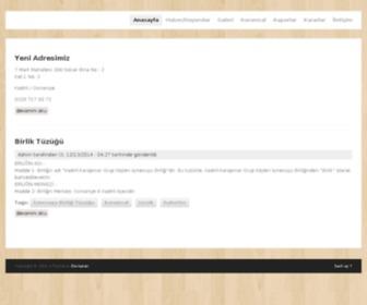 Kisb.gov.tr - Website uygun değil