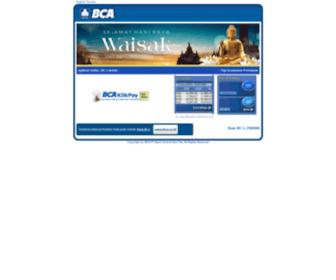 Klikbca.com - Internet Banking - KlikBCA
