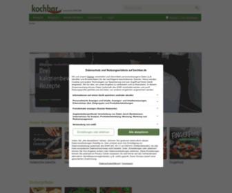 Kochbar.de - Rezepte kochen mit kochbar.de | 432300 Kochrezepte - kochbar.de