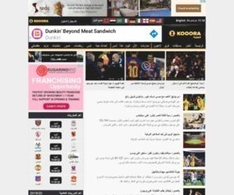 Kooora.com - كووورة: الموقع العربي الرياضي الأول