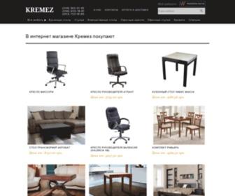 Kremez.com.ua - Интернет магазин мебели - Кремез