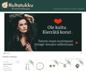Kultatukku.fi - Kultatukku, Vintage-koruja, sijoituskultaa, joustava kullan ostopalvelu.