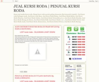Kursiroda.us - PENJUAL KURSI RODA - HARGA JUAL KURSI RODA BARU | TOKO KURSI RODA RUMAH SAKIT