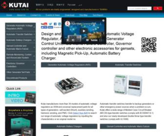 Kutai.com.tw - KUTAI Electronics, Manufacturer and Supplier of Generator Set Parts in Taiwan
