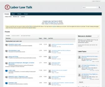 Laborlawtalk.com - Forums - Labor Law Talk