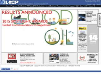 Lacp.com - Annual Report Awards, Annual Report Competition, Annual Report Contest