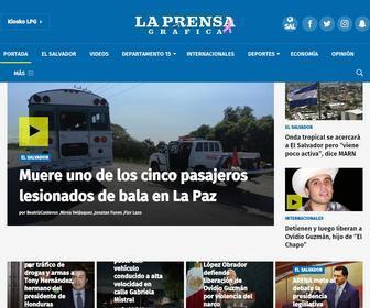 Laprensagrafica.com - Noticias de El Salvador - La Prensa Gráfica