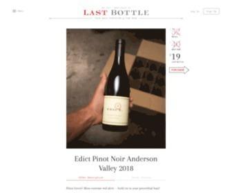 Lastbottlewines.com - The best deals in fine wine - Last Bottle