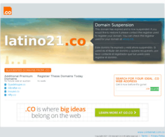 Latino21.co - Latino21.com - Latino Radio Online
