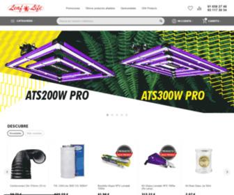Leaflife.com - Leaf Life es un distribuidor de productos al por mayor relacionados con el cultivo del Cannabis