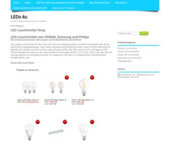 Leds-4u.de - Produkte Archiv - LEDs 4u