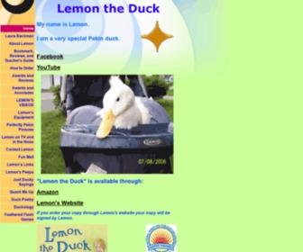 Lemontheduck.com - Lemon the Duck
